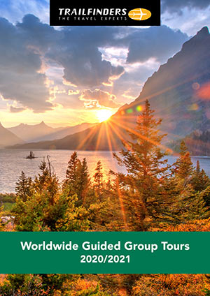 Escorted Group Touring brochure from Trailfinders
